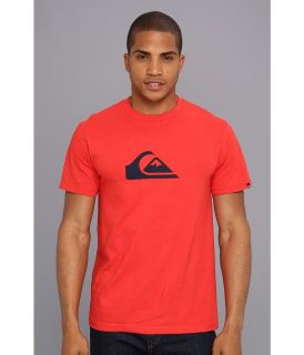 Quiksilver Mountain Wave Tee Mens T Shirt (Red)