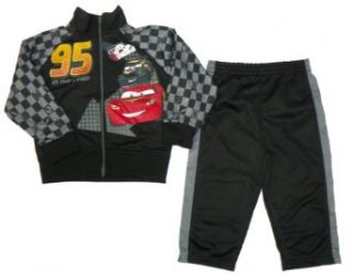 Disney CARS Lightning McQueen Toddler Tracksuit (4T) Infant And Toddler Pants Clothing Sets Clothing
