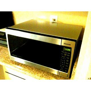 Panasonic NN SN657S 1.2 cuft, 1300 Watt Stainless Steel Microwave Oven, Inverter Technology Kitchen & Dining