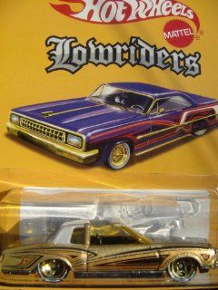 Hot Wheels Lowriders '74 Monte Carlo Bronze White line 5 spoke cross top Chrome carriage & grill Highly Detailed 1/64 2006. Toys & Games