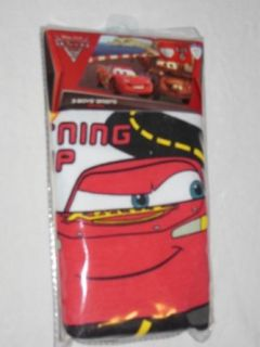Disney Pixar Cars Lightning McQueen 3 pack Boys Briefs Size 6 Clothing