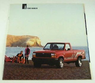 1991 91 Ford RANGER Pickup Truck BROCHURE XLT Sport  Other Products
