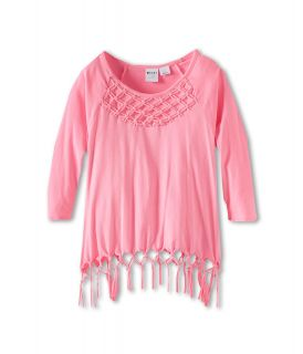 Roxy Kids Elmbrook L/S Knit Girls Long Sleeve Pullover (Pink)
