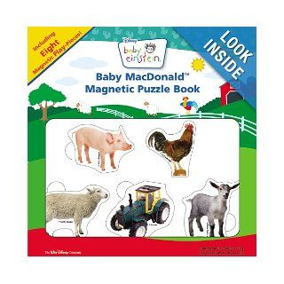 Baby MacDonald Magnetic Puzzle Book (Baby Einstein (Special Formats)) Julie Aigner Clark, Nadeem Zaidi 9781423102052 Books