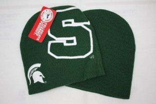Michigan State Spartans Winter Hat Adult Size  Sports Fan Beanies  Sports & Outdoors