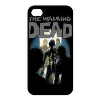 FashionFollower Design Movie Series Walking Dead Hot Phone Case Suitable For iphone4/4s IP4WN40322 Cell Phones & Accessories