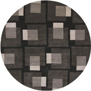 Bense Garza Collection Hand tufted Contemporary Rug (7'9 Round) by Chandra Rugs   Area Rugs