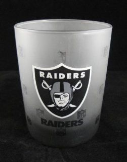 NFL Oakland Raiders Rocks Glass 14oz Drinkware Kitchen & Dining