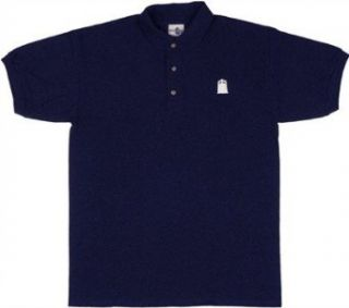 Doctor Who Dr TARDIS Men's Navy Polo Shirt Movie And Tv Fan T Shirts Clothing