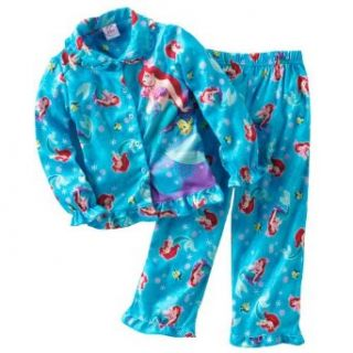 Disney Princess Girl's Ariel Pajama Set (2T) Clothing