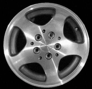 96 98 JEEP GRAND CHEROKEE ALLOY WHEEL RIM 15 INCH SUV, Diameter 15, Width 7 (5 SPOKE), CHROME, 1 Piece Only, Remanufactured (1996 96 1997 97 1998 98) ALY09014U85 Automotive
