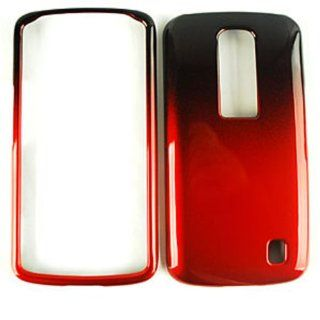 For Lg Optimus Net P690 Black Red 2 Tone Case Accessories Cell Phones & Accessories