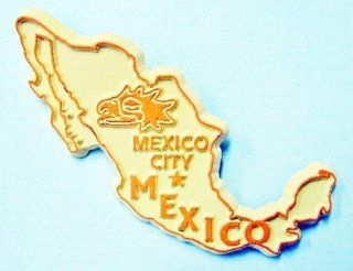 Mexico Country Outline Fridge Magnet Refrigerator Magnets Kitchen & Dining