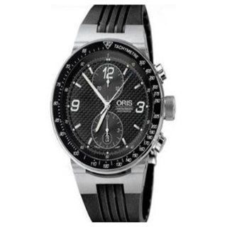 Oris F1 673 7563 4184RS / 67375634184 RS Automatic Stainless Steel Case Black Rubber Men's Watch at  Men's Watch store.