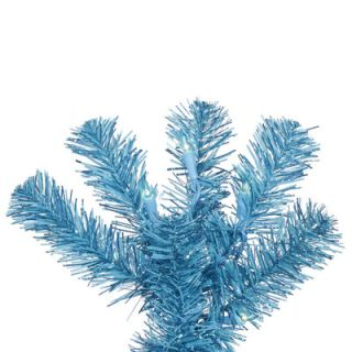Sky Blue Artificial Christmas Tree with 150 Sky Blue Lights