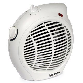 Impress IM 701 1500 Watt Compact Fan Heater with Adjustable Thermostat Home & Kitchen