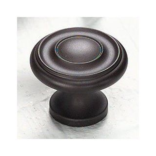 "Schaub and Company 703 10B Oil Rubbed Bronze Traditional Designs Solid Traditional Design Mushroom Cabinet Knob With 1 1/4"" Diameter   Cabinet And Furniture Knobs"