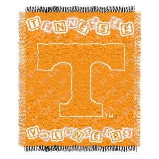 NCAA Tennessee Volunteers 36 Inch by 46 Inch Woven Jacquard Baby Throw  Throw Blankets  Sports & Outdoors