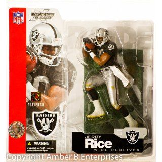 McFarlane Toys NFL Sports Picks Series 5 Action Figure Jerry Rice (Oakland Raiders) Toys & Games