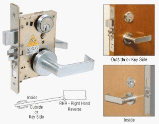 ML9453RHR   CRL Right Hand Reverse Heavy Duty Mortise Lever Lock   Door Levers