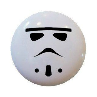 Star Wars StormTrooper Style Ceramic Knobs Kitchen Drawer Cabinet Vanity 705   Cabinet And Furniture Knobs