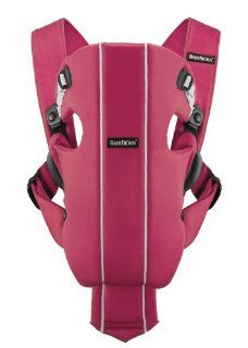 BABYBJORN Baby Carrier Original, Raspberry, Cotton  Child Carrier Front Packs  Baby