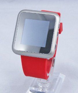 "8GB+1.44""Unlocked Touch Screen Watch Mobile Cell Phone Quad Band GSM MP4 Camera Bluetooth Cell Phones & Accessories"