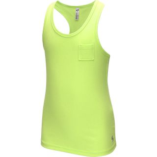 SOFFE Girls Pocket Tank   Size Small, Lime Green