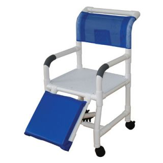 MJM International Standard Deluxe 18 Shower Chair and Optional
