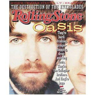 Rolling Stone Magazine, Issue 733, May 1996, Oasis Cover Jann S Wenner Books