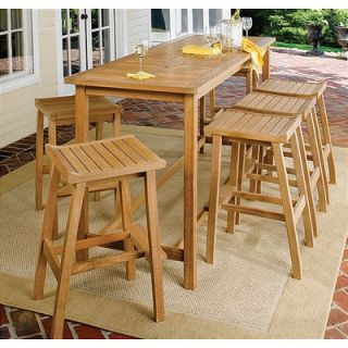 Oxford Garden Dartmoor 6 Piece Bar Height Dining Set