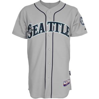 Majestic Athletic Seattle Mariners Blank Authentic Road Cool Base Jersey   Size