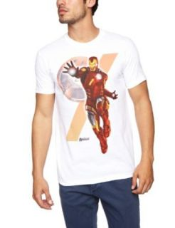 Mens Avengers Insignia Iron Man T Shirt Novelty T Shirts Clothing