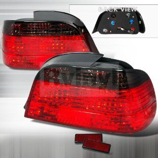 BMW E38 7 Series 750iL 740iL 740i 1995 1996 1997 1998 1999 2000 2001 Altezza Tail Lights   Smoke Automotive