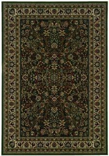 Sphinx by Oriental Weavers 748679146369 Ariana 7.83 ft. x 11 ft. Traditional Rectangular Area Rug   Green and Ivory