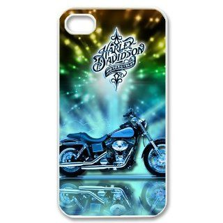 Motor Harley Davidson Cycles Logo iPhone 4 4S Best Phone Case Cover Cell Phones & Accessories