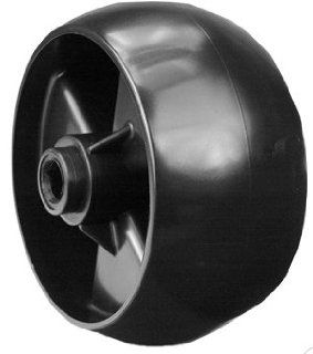 Replacement Deck Wheel for part 734 04155 used on MTD, Cub Cadet, Troy Bilt, White, More Lawn Mower Deck Parts  Patio, Lawn & Garden