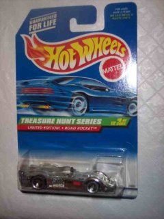 1998 Treasure Hunt #8 Road Rocket #756 Collectible Collector Car Mattel Hot Wheels Toys & Games