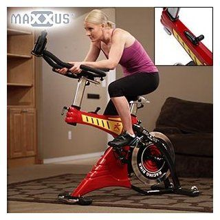 Maxxus� Pro Spk 21 Fitness Cycle 44.1 Lb Flywheel, 8 Speed Shift Gear Control, Commercial Grade Dual Fixed Wheel, 5pk Belt Drive