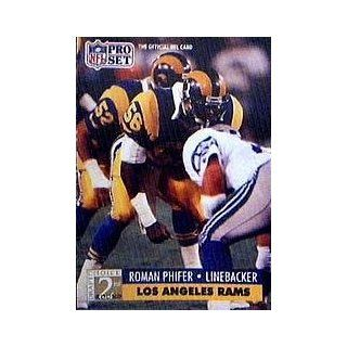 1991 Pro Set #760 Roman Phifer RC Sports Collectibles