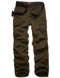 Match Mens Cargo Pants Slim Fit Casual Pants #6515 at  Men�s Clothing store Matchmen
