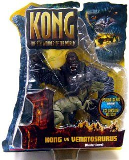 King Kong The 8th Wonder of the World Action Figure Kong Vs. Venatosaurus Toys & Games