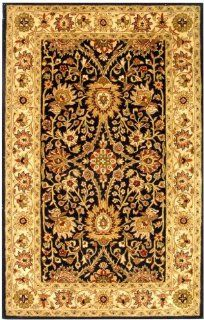 Antiquities AT249B Black Area Rug