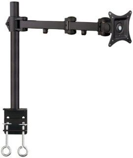Mount It Articulating Single Arm Computer Monitor Desk Mount for 27 Inch Monitors (MI 751)  Computer Monitor Stands