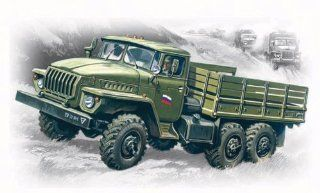 ICM Models Ural 4320 Army Truck Building Kit Toys & Games