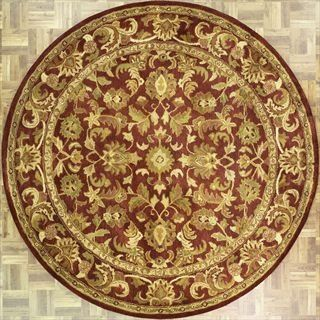 6 x 6 Round Handmade Tufted Persian New Area Rug From India