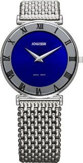 Jowissa Women's J2.009.L Roma 36 mm Blue Dial Roman Numeral Stainless Steel Watch at  Women's Watch store.