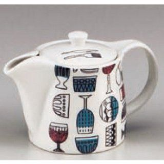 teapots kbu763 03 302 [7.09 x 3.94 x 4.45 inch  480 cc] Japanese tabletop kitchen dish Western dishes accessory Dream Kitchen pot [18 x 10 x 11.3cm ? 480 cc ] China Restaurant Hotel Tableware commercial restaurant kbu763 03 302 Kitchen & Dining
