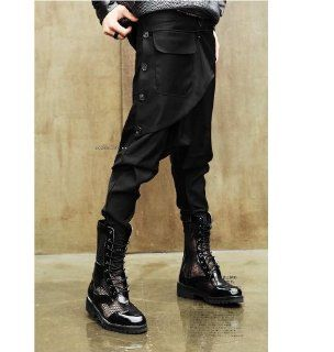 Fashion Trendy Men`s Boot Cut Jeans Skinny Pants Harem Pants Men Hip Hop Pants Sports & Outdoors