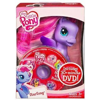 My Little Pony Friends   Starsong with DVD and Brush Toys & Games